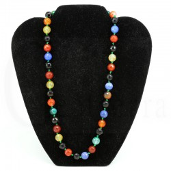 collar agata multicolor