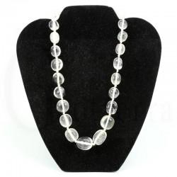collar cuarzo cristal roca