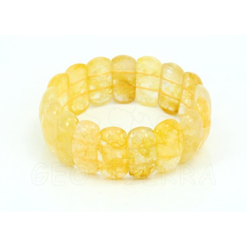 pulsera de cuarzo citrino
