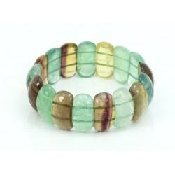 pulsera de fluorita arcoiris