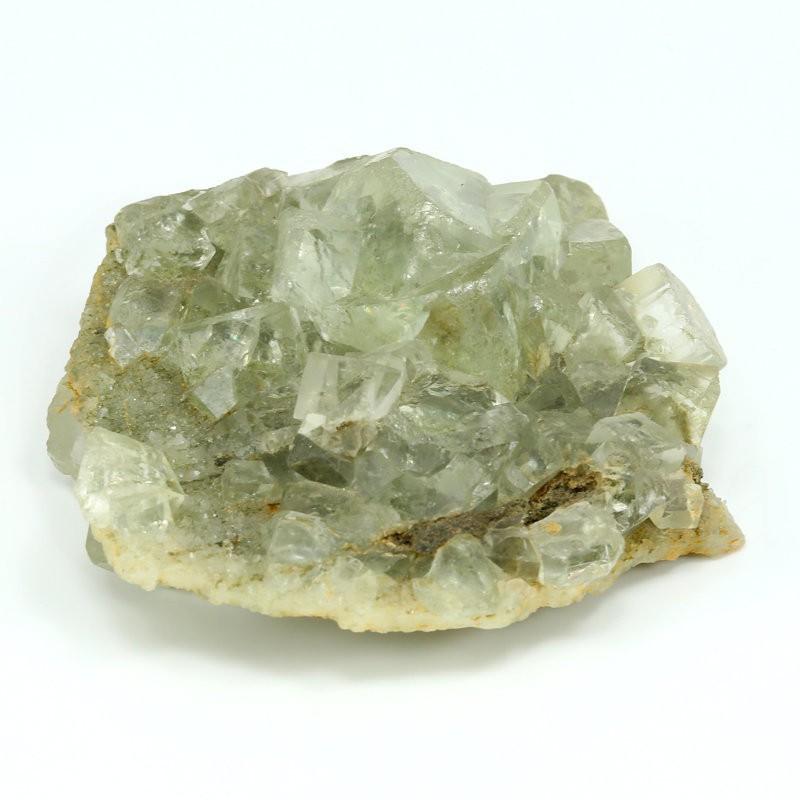 fluorita verde cubica