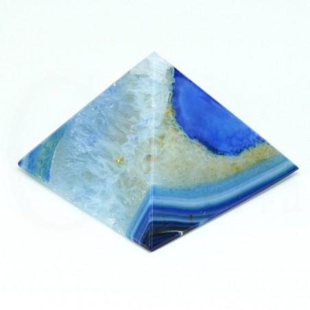 piramide agata azul