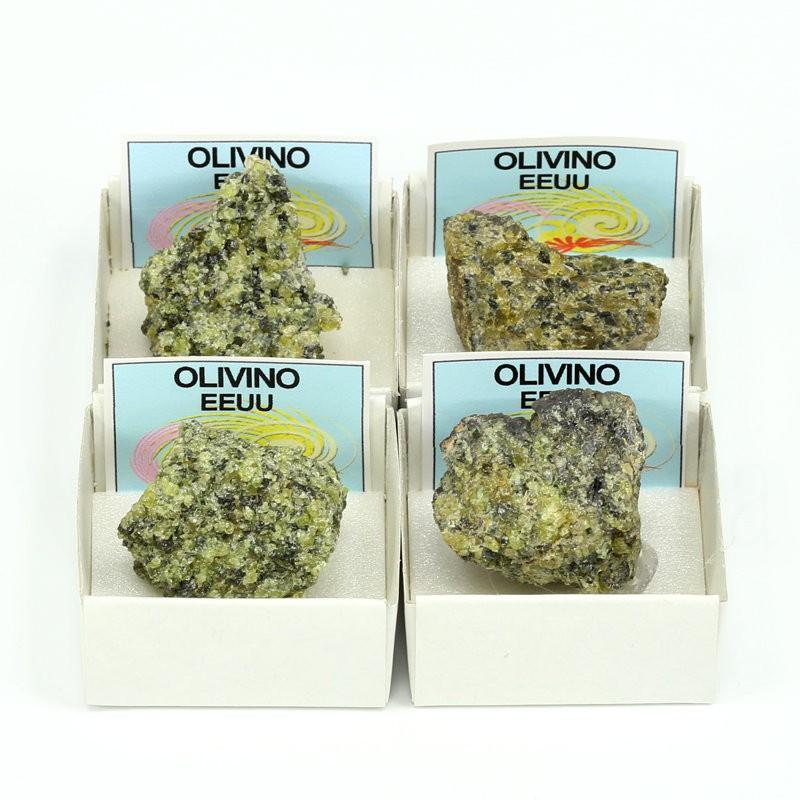 mineral olivino peridoto