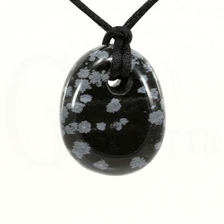 colgante obsidiana nevada