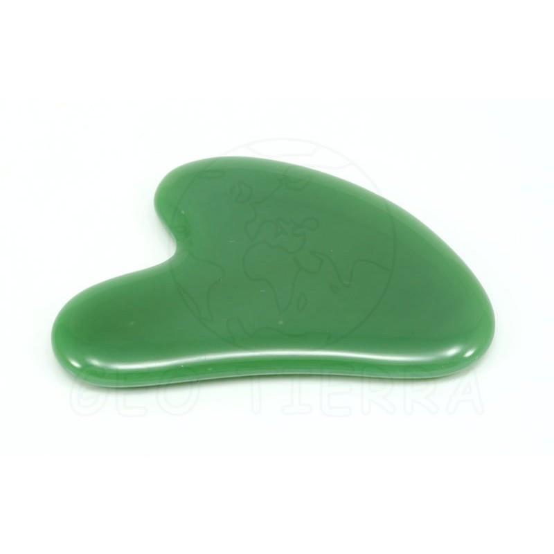 gua sha jade verde