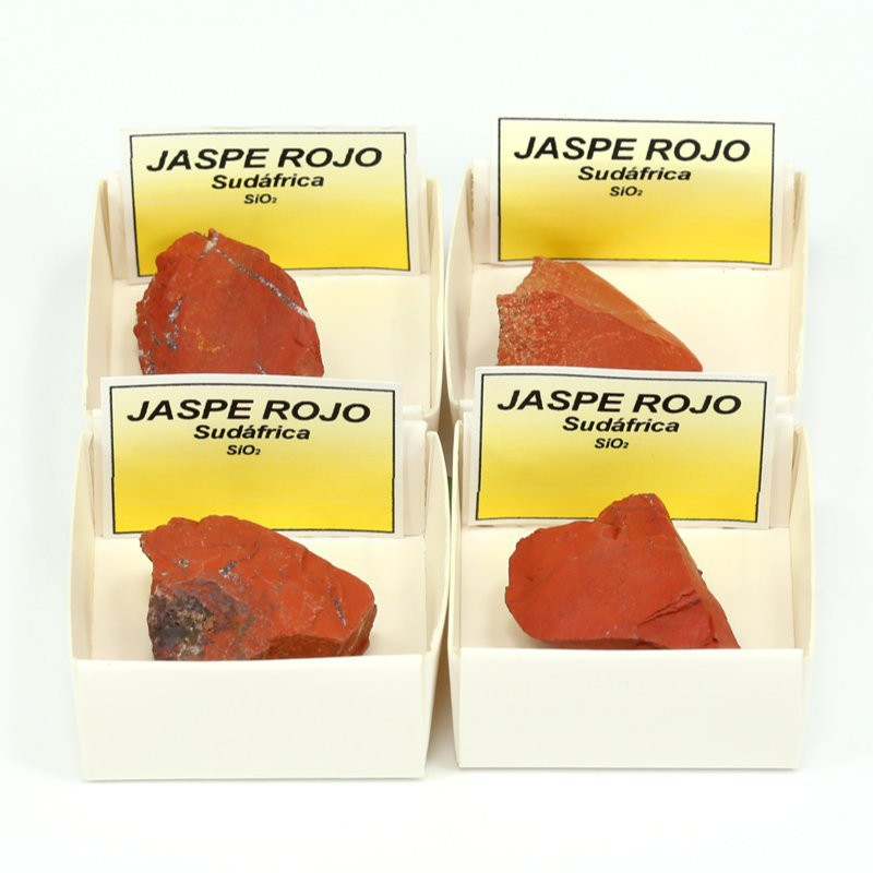 mineral jaspe rojo