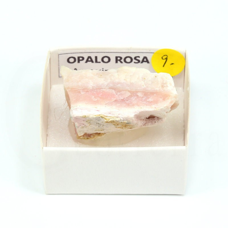 mineral opalo rosa