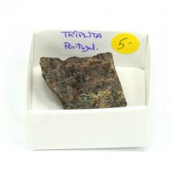 Mineral colección triplita