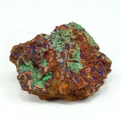 azurita cristalizada malaquita