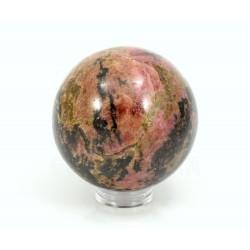 esfera de rodonita