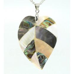 colgante nacar abalon
