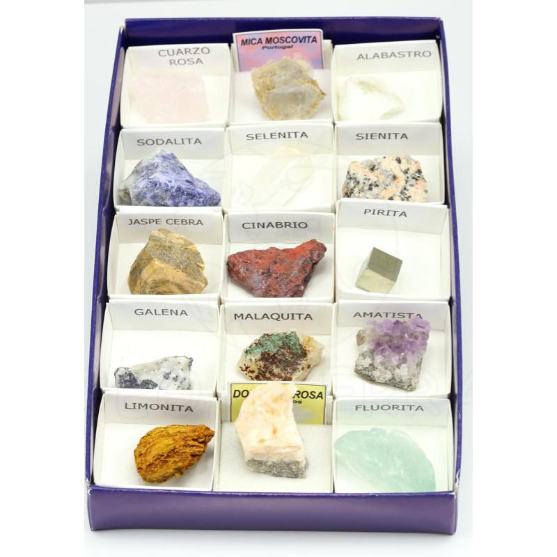 coleccion minerales basica