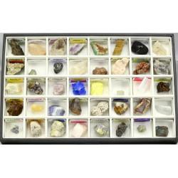 coleccion minerales carton