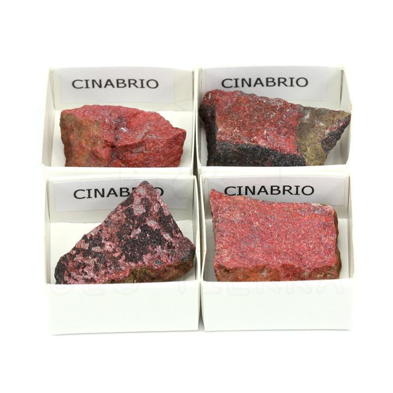 mineral cinabrio