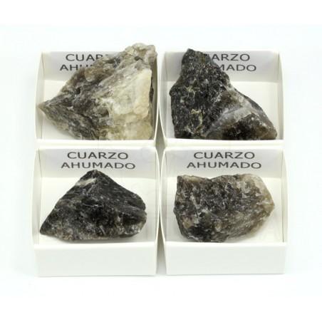 mineral cuarzo ahumado