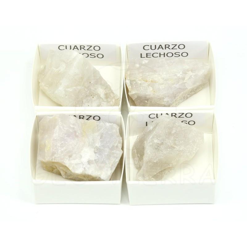 mineral cuarzo lechoso