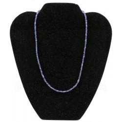 collar zafiro gema