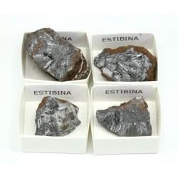 mineral estibina antimonita