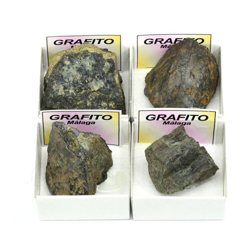 mineral grafito