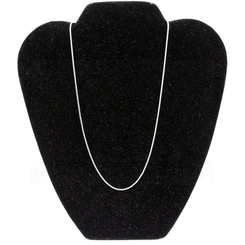 cadena plata 50 cm total
