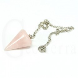pendulo cuarzo rosa