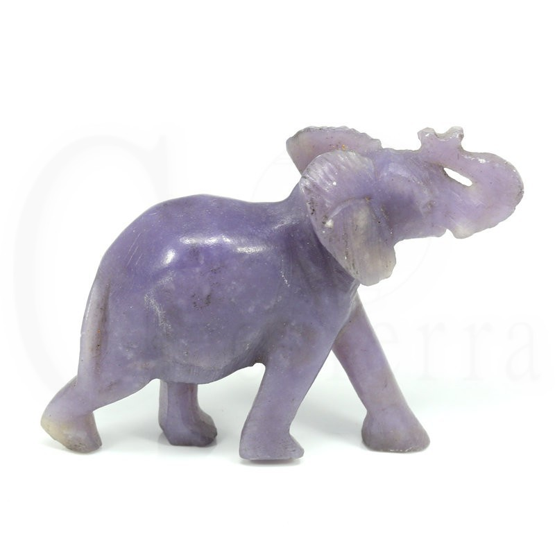elefante lepidolita frente