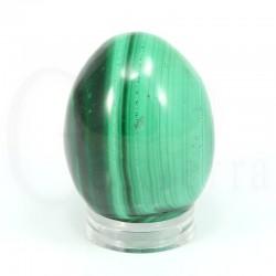 huevo malaquita frente
